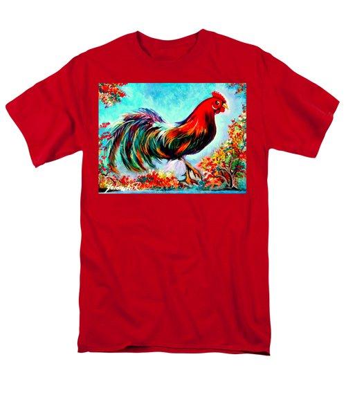 Rooster/gallito Men's T-Shirt  (Regular Fit) by Yolanda Rodriguez