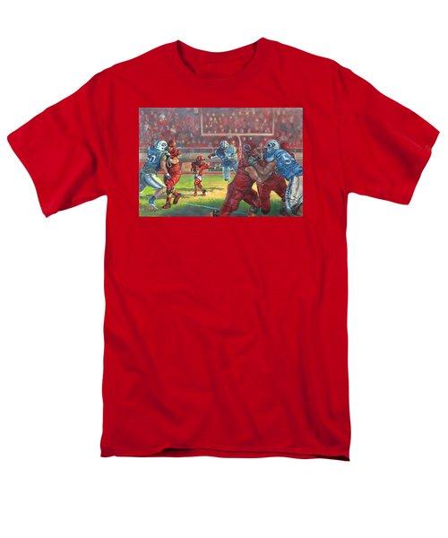 Running Courage Men's T-Shirt  (Regular Fit)