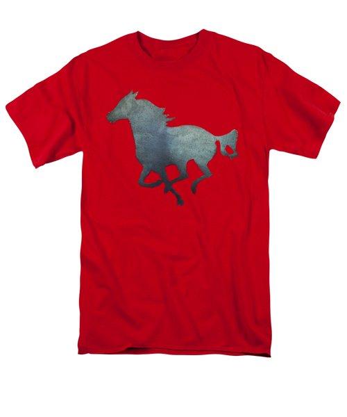 Running Horse Men's T-Shirt  (Regular Fit) by Pamela Walton