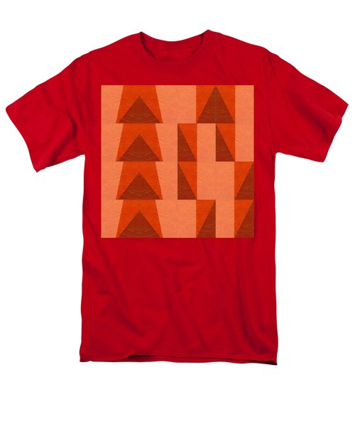 Salmon With Red And Brown Men's T-Shirt  (Regular Fit) by Michelle Calkins