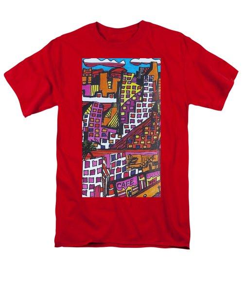 San Francisco  Men's T-Shirt  (Regular Fit) by Don Koester