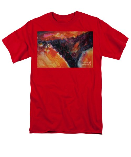 Men's T-Shirt  (Regular Fit) featuring the painting Secret Hideaway by Kathy Braud