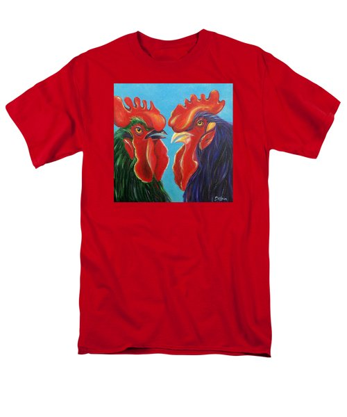 Men's T-Shirt  (Regular Fit) featuring the painting Secrets by Susan DeLain