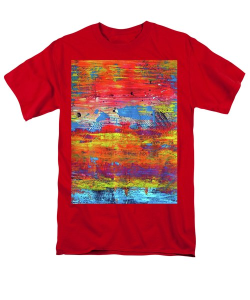 Men's T-Shirt  (Regular Fit) featuring the painting Sedona Trip by Everette McMahan jr