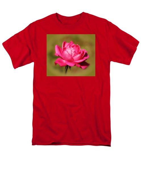September Rose Up Close Men's T-Shirt  (Regular Fit) by MTBobbins Photography