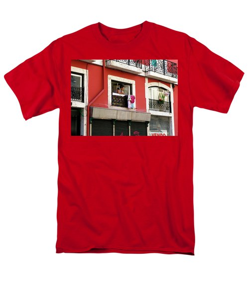 Men's T-Shirt  (Regular Fit) featuring the photograph She Takes A Break by Lorraine Devon Wilke