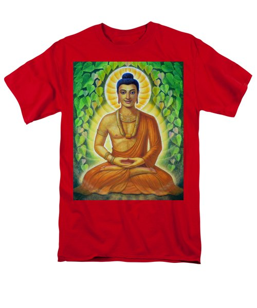 Men's T-Shirt  (Regular Fit) featuring the painting Siddhartha by Sue Halstenberg