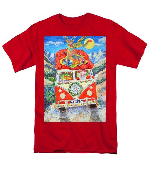 Sierra Santa Men's T-Shirt  (Regular Fit) by Li Newton