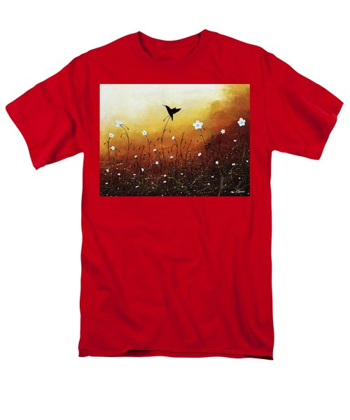 Men's T-Shirt  (Regular Fit) featuring the painting Small Treasure by Carmen Guedez