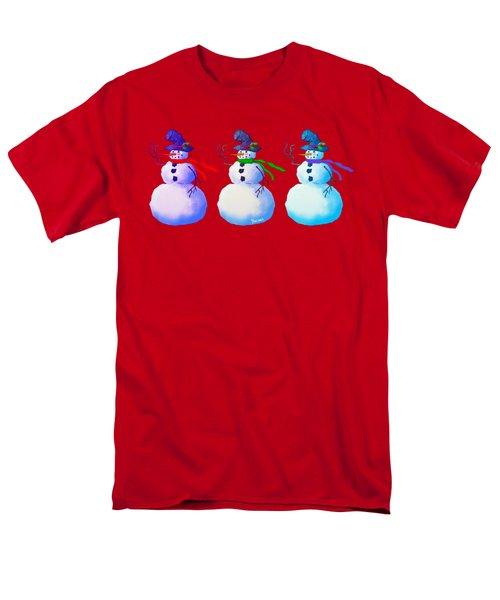 Snowmen Apparel Design Men's T-Shirt  (Regular Fit) by Teresa Ascone