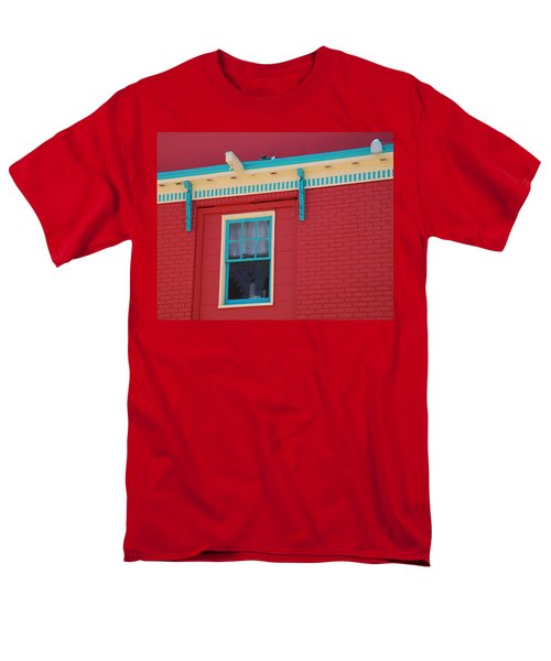 Men's T-Shirt  (Regular Fit) featuring the photograph Solitary Window by Richard Bryce and Family