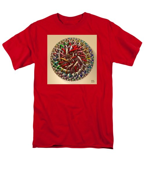 Men's T-Shirt  (Regular Fit) featuring the digital art Spawn by Manny Lorenzo