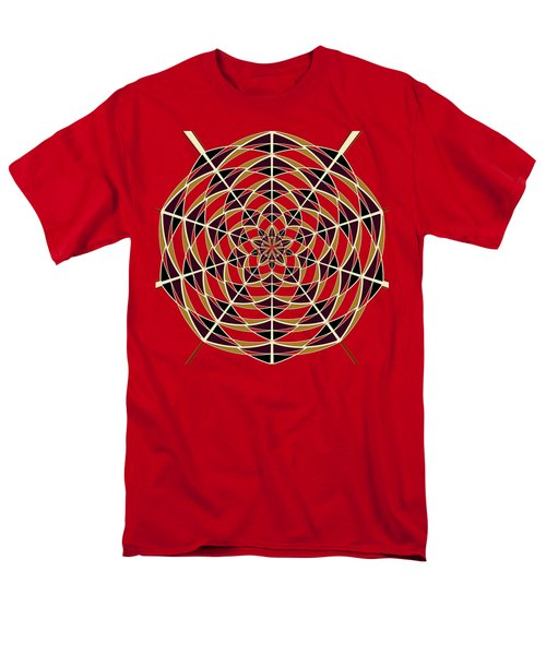 Spider Web Men's T-Shirt  (Regular Fit)