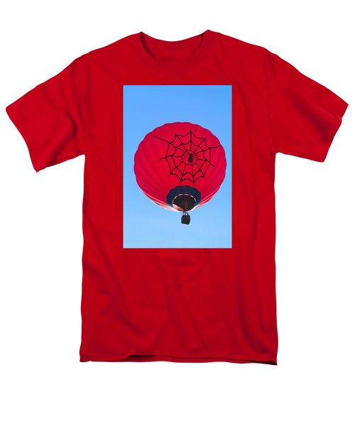 Men's T-Shirt  (Regular Fit) featuring the photograph Spiderballoon by Brenda Pressnall