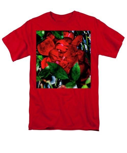 Spirit Of The Rose Men's T-Shirt  (Regular Fit) by Gina O'Brien