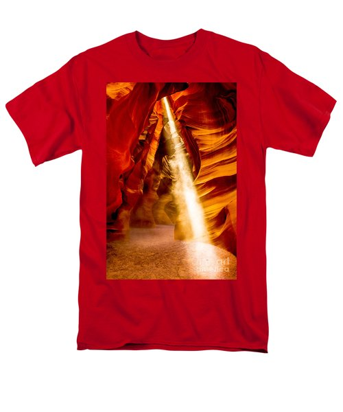 Spirit Light Men's T-Shirt  (Regular Fit) by M G Whittingham