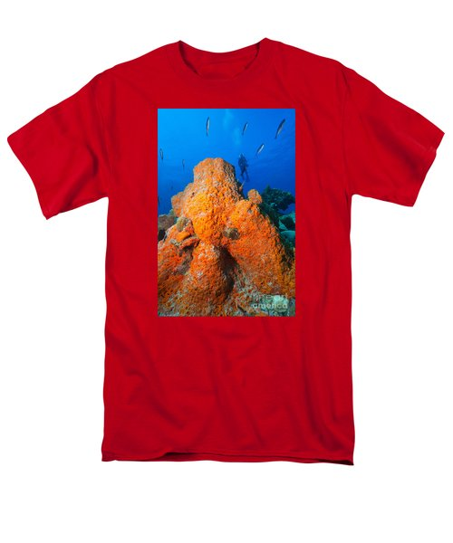 Men's T-Shirt  (Regular Fit) featuring the photograph Sponge Mountain by Aaron Whittemore
