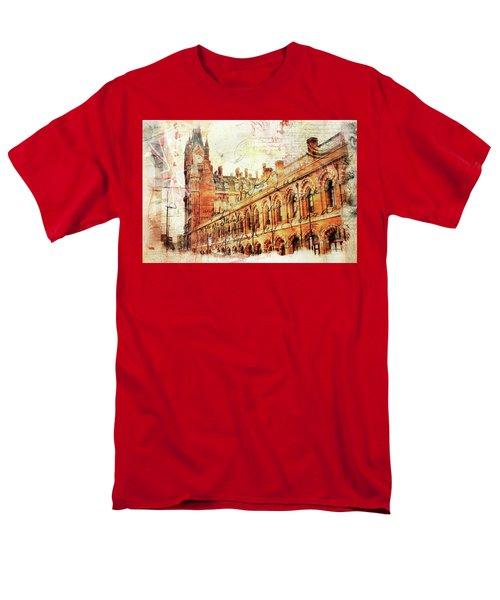 St Pancras Men's T-Shirt  (Regular Fit) by Nicky Jameson