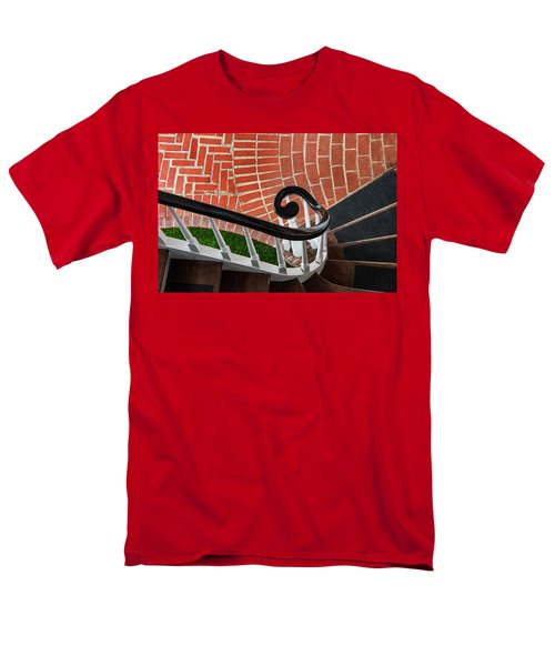 Staircase To The Plaza Men's T-Shirt  (Regular Fit)