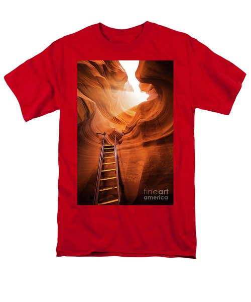 Stairway To Heaven Men's T-Shirt  (Regular Fit) by JR Photography