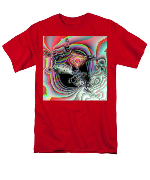 Men's T-Shirt  (Regular Fit) featuring the digital art Star Defomation by Ron Bissett