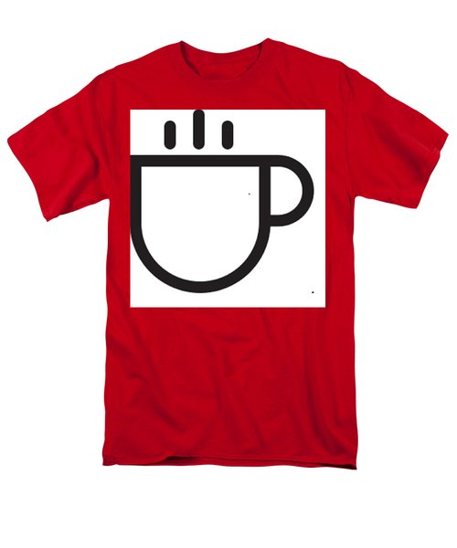 Steamed Men's T-Shirt  (Regular Fit)