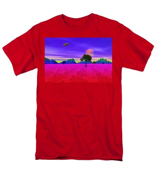 Strangely Place Men's T-Shirt  (Regular Fit) by Mark Blauhoefer