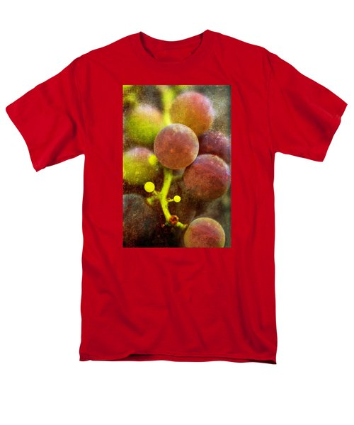 Men's T-Shirt  (Regular Fit) featuring the photograph Summer Grapes by Tom Singleton