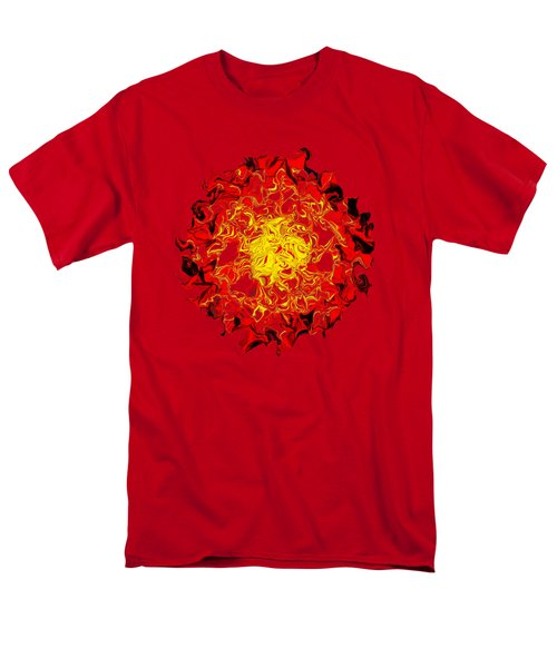 Sun Abstract Art By Kaye Menner Men's T-Shirt  (Regular Fit) by Kaye Menner
