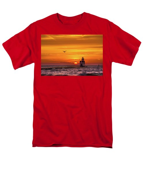 Men's T-Shirt  (Regular Fit) featuring the photograph Sunrise Solo by Bill Pevlor