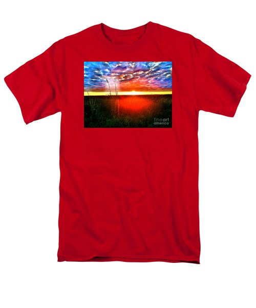 Sunset Men's T-Shirt  (Regular Fit) by Amy Sorrell