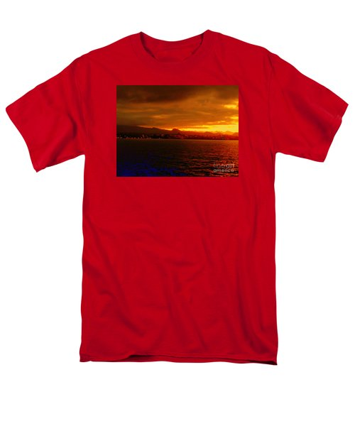 Sunset West Africa Men's T-Shirt  (Regular Fit) by John Potts