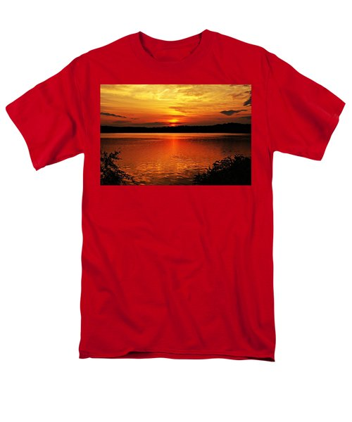 Sunset Xxiii Men's T-Shirt  (Regular Fit) by Joe Faherty