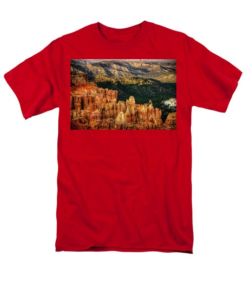 Sunsets In The Canyon Men's T-Shirt  (Regular Fit) by Rebecca Hiatt