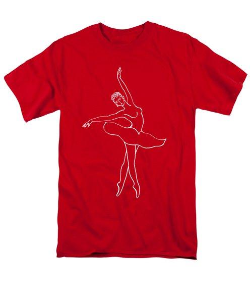 Swan Lake Dance Men's T-Shirt  (Regular Fit) by Irina Sztukowski
