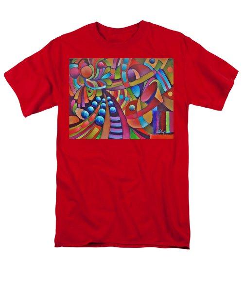 Technicolor Bloom Men's T-Shirt  (Regular Fit) by Jason Williamson