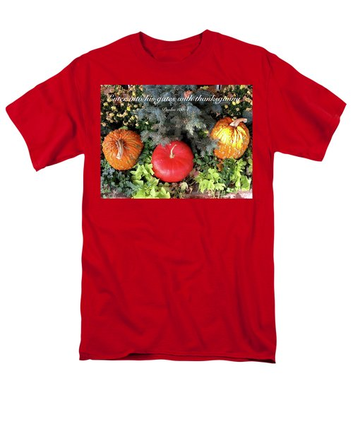 Thanksgiving Men's T-Shirt  (Regular Fit) by Russell Keating