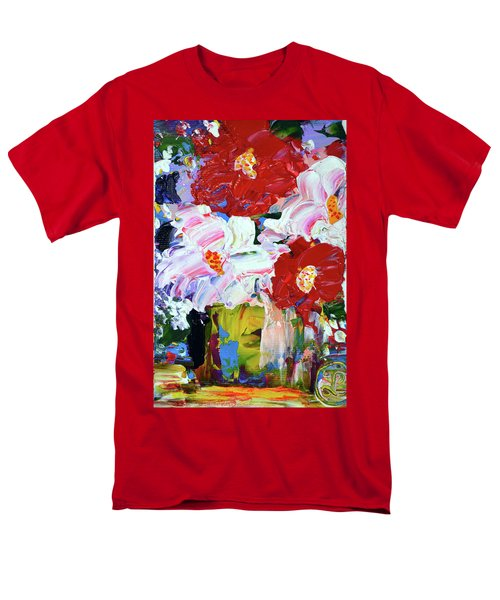 That Streak Of Pink Men's T-Shirt  (Regular Fit) by Lynda Cookson