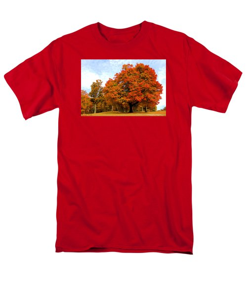 Men's T-Shirt  (Regular Fit) featuring the photograph The Beauty Of Autumn  by Michael Rucker