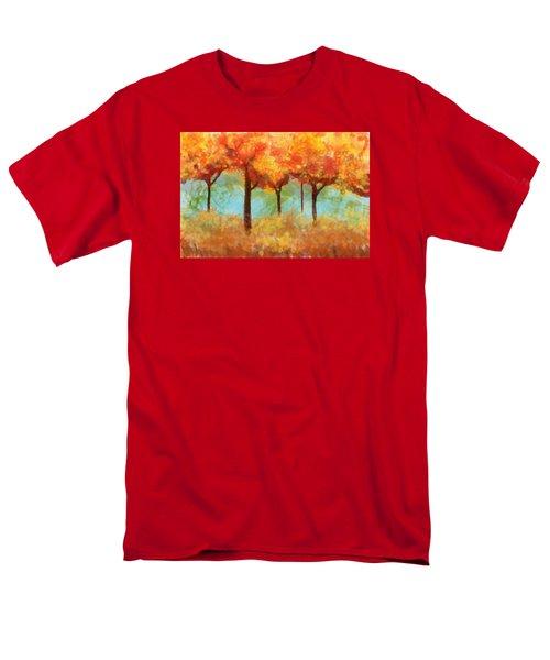 The Colors Of New Hampshire Men's T-Shirt  (Regular Fit)