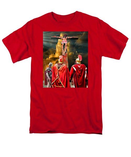 The Crucifixion Men's T-Shirt  (Regular Fit)