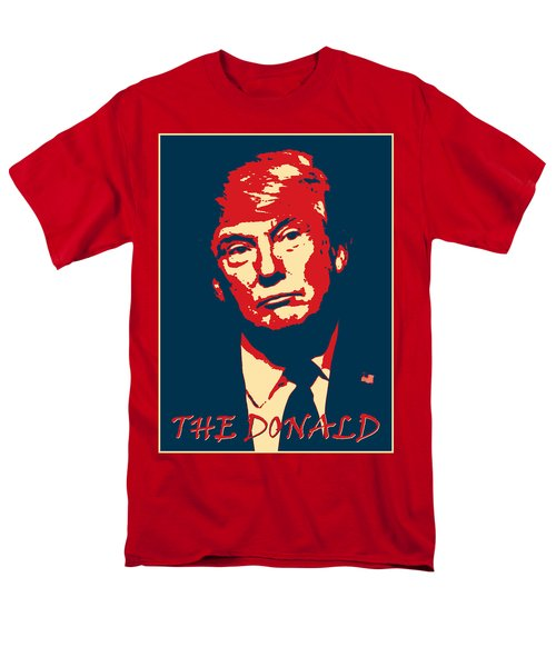 The Donald Men's T-Shirt  (Regular Fit) by Richard Reeve