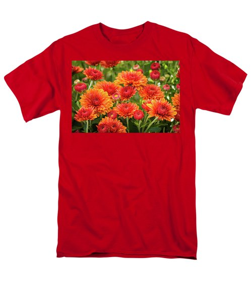 Men's T-Shirt  (Regular Fit) featuring the photograph The Fall Bloom by Bill Pevlor