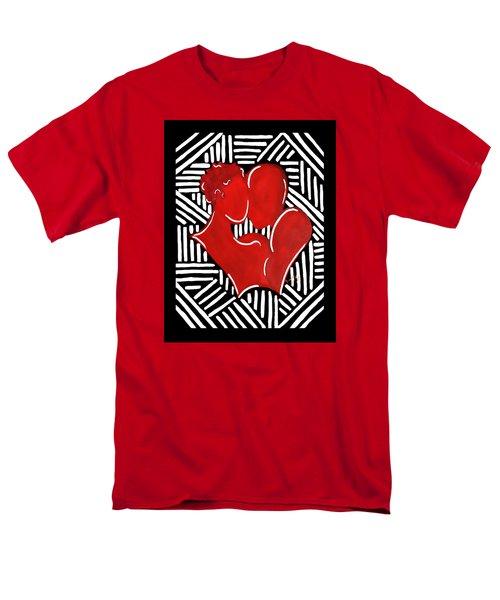 The Kiss Men's T-Shirt  (Regular Fit) by Diamin Nicole