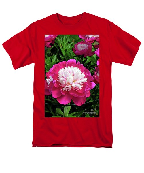 The Most Beautiful Peony Men's T-Shirt  (Regular Fit) by Eva Kaufman