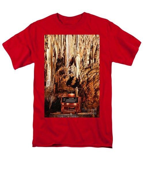 The Organ In The Cavern Men's T-Shirt  (Regular Fit) by Paul Ward