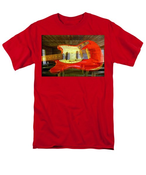 Men's T-Shirt  (Regular Fit) featuring the photograph The School Of Rock by David Lee Thompson