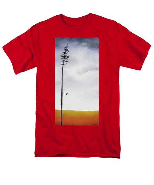 The Trees Are So Tall Here  II     Men's T-Shirt  (Regular Fit) by Carolyn Doe