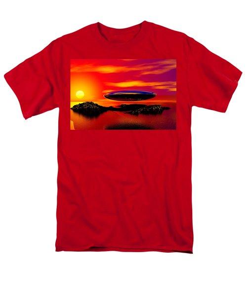 The Visitor Men's T-Shirt  (Regular Fit) by David Lane