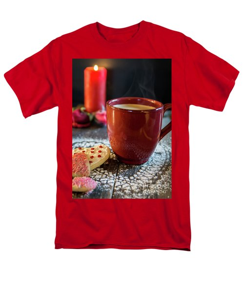 Men's T-Shirt  (Regular Fit) featuring the photograph The Warmth Of Our Love by Deborah Klubertanz